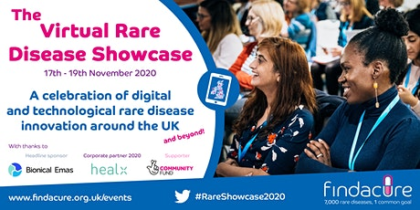 The Virtual Rare Disease Showcase tickets