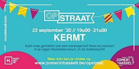 OP STRAAT Kermt tickets
