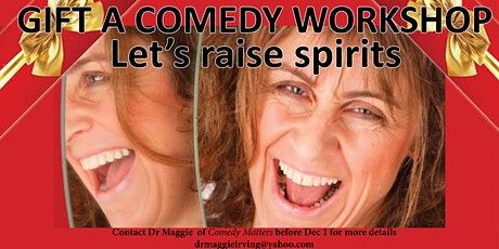 Gift of Comedy: Online Comedy Course tickets