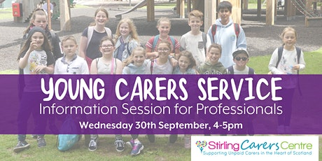 Young Carers Service Professionals Information Session tickets