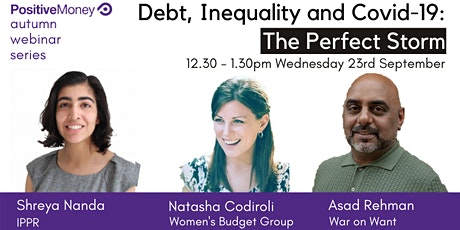 Debt, Inequality and Covid-19: The Perfect Storm tickets