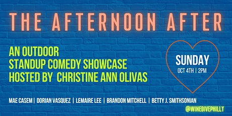 The Afternoon After: An Outdoor Standup Comedy Showcase tickets