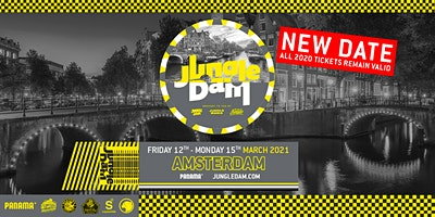 Jungle Dam 2021 - Amsterdam Weekender Poster