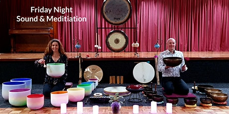 Sound Healing & Guided Meditation - Tibetan & Crystal Singing Bowls & Gongs tickets