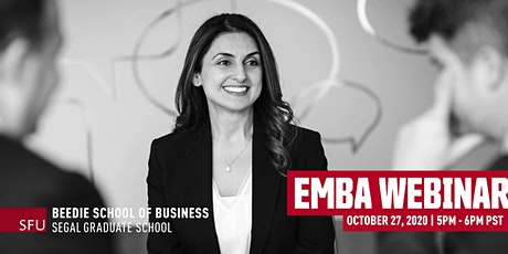 Executive MBA Webinar tickets