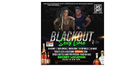 Blackout Sexy Lime tickets