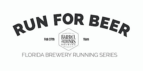 Beer Run Barrel of Monks Brewing |2020-2021  Florida Brewery Running Series tickets