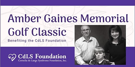 Amber Gaines Memorial Golf Classic to Benefit the CdLS Foundation tickets