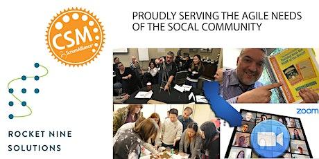 Vic Bonacci|Orange County|Online|Certified Scrum Master|CSM |Dec. 29,2020 tickets