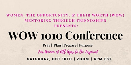 WOW 1010 Conference tickets