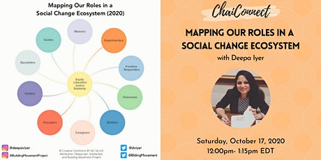 Mapping Our Roles in a Social Change Ecosystem tickets