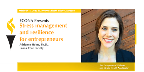 Stress management and resilience for entrepreneurs tickets