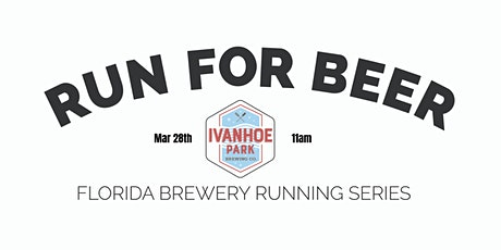 Beer Run Ivanhoe Park Brewing Co |2020-2021  Florida Brewery Running Series tickets