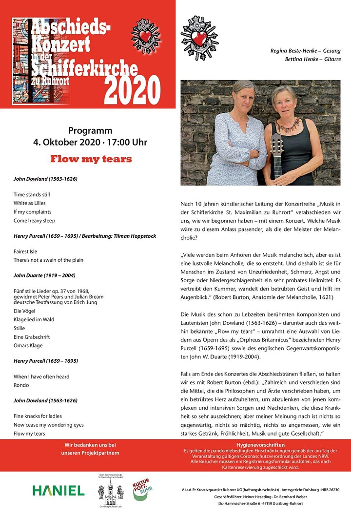 Flow My Tears | MaxiMusik 2011 bis 2020 Abschiedskonzert: Bild