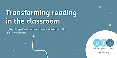 Transforming reading in the classroom - Full day workshop tickets