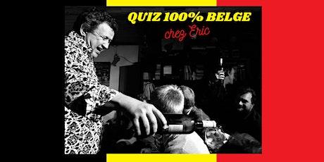 Tapas, Vino et QUIZ belgo-belge chez Eric Boschman  ! billets