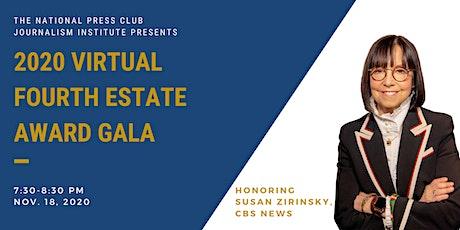 2020 Fourth Estate Award Gala tickets