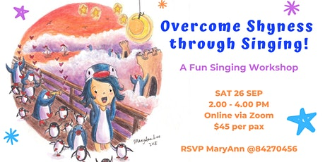 Online Workshop: Overcome Shyness Through Singing! tickets