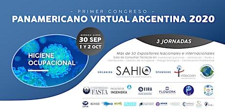 Primer Congreso Panamericano Virtual de Higiene Ocupacional  Argentina 2020 entradas