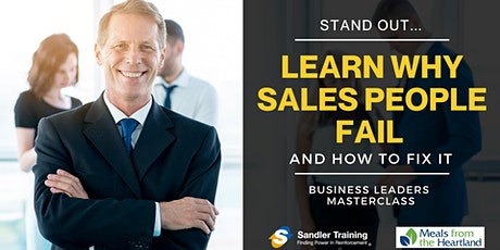 Learn Why Salespeople Fail and How to Fix it. | Business Masterclass tickets