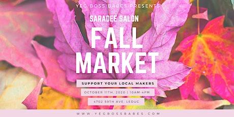 YEGBOSSBABES | Saradee Fall Market tickets