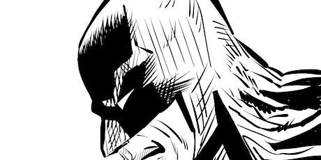 """Webinar """"Come disegnare Batman"""" biglietti"""