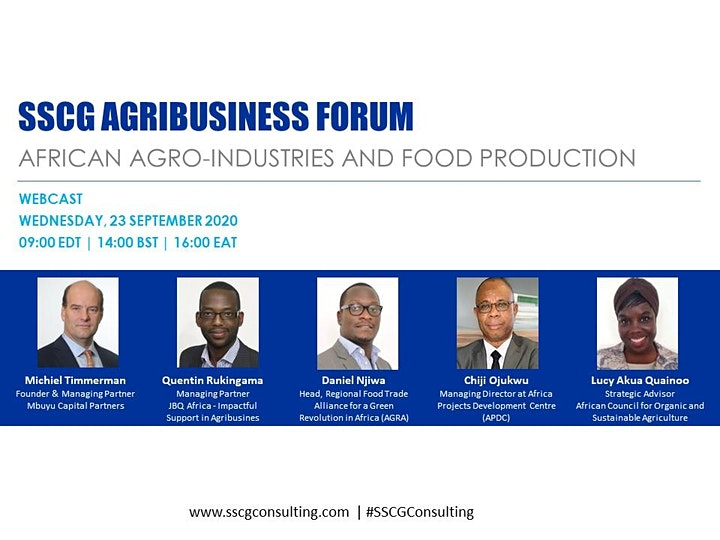SSCG Agribusiness Forum - African Agro-industries  and  Food Production image