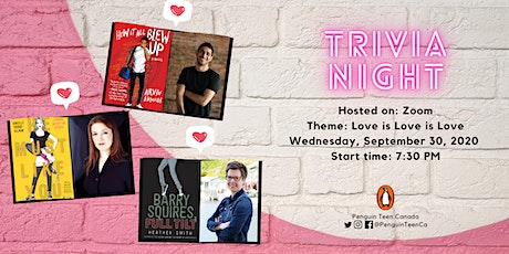 Penguin Teen Canada Zoom Trivia September: Love Is Love Is Love Edition tickets