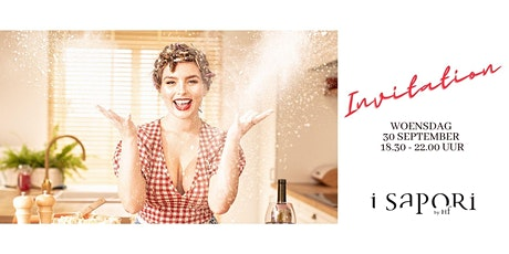 i Sapori invites ... hosted by Carla De Graef tickets
