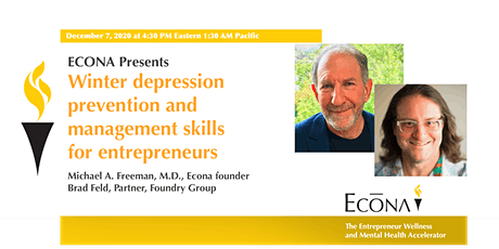 Winter depression prevention and management skills for entrepreneurs tickets
