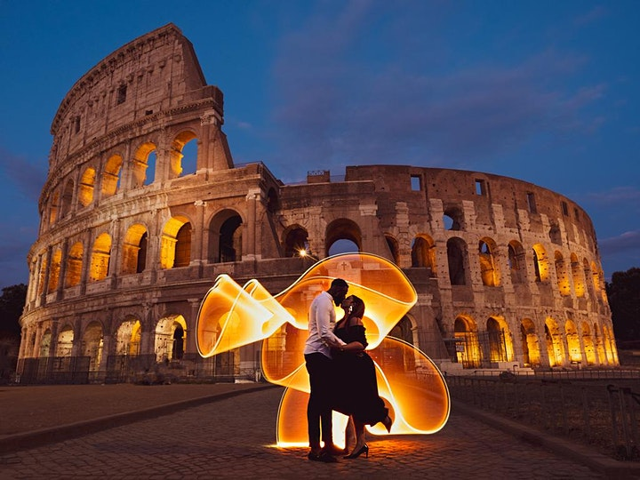Immagine DARE LUCE ALL'INVISIBILE Workshop di Light Painting per WEFO2020