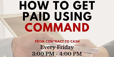 How to Get Paid using Command tickets