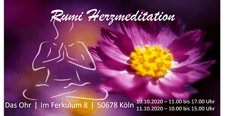Rumi Herzmeditation Tickets