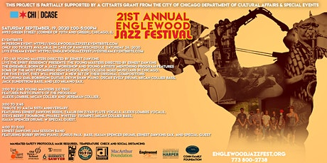 Englewood Jazz Festival In Person Event (Limited) tickets