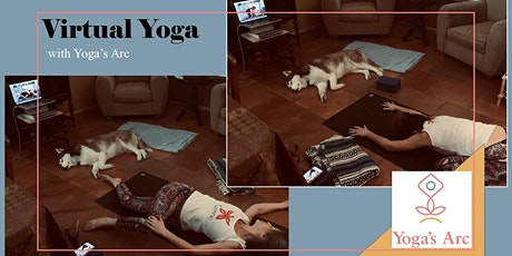 Virtual Yoga Classes with Yoga's Arc (Tue, Wed, Thur) tickets