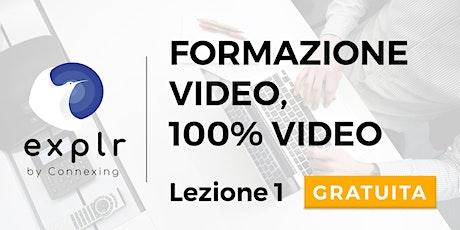 Explr - Vendere e animare le relazioni con i  clienti in videoconferenza biglietti