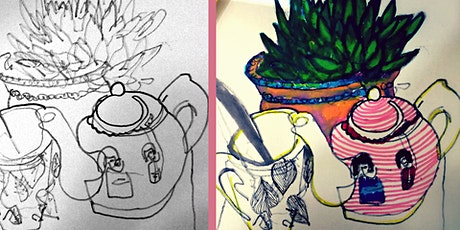 Blind Drawing: Still Life Workshop tickets