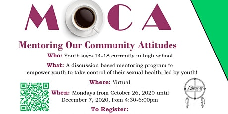 MOCA: Mentoring Our Community Attitidues tickets