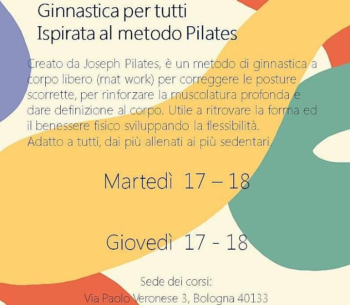 Immagine Lezione di prova - GINNASTICA METODO PILATES