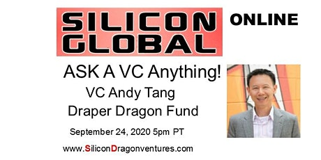 Silicon Global Online:  Ask VC Andy Tang Anything tickets