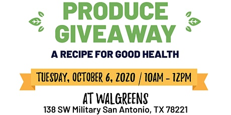 Free Produce Giveaway tickets