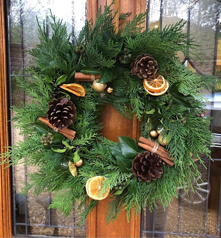 Natural Wreath Making image