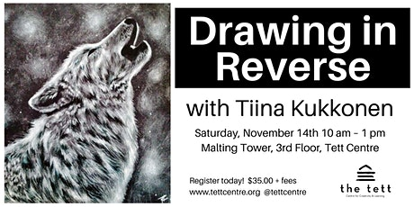 Drawing in Reverse for Beginners tickets