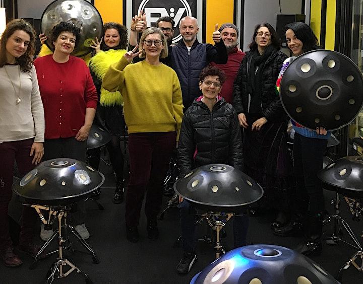Immagine Lezioni di Handpan -  Corsi in partenza il 24 e il 29 Maggio - Milano 2021