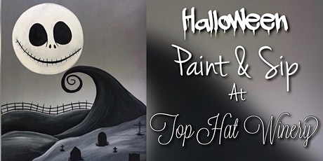 Halloween Paint & Sip at Top Hat Winery! tickets