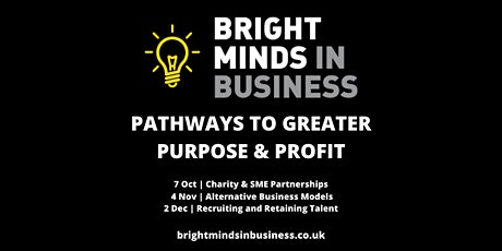 Pathways to Greater Purpose & Profit: Charity & SME Partnerships tickets