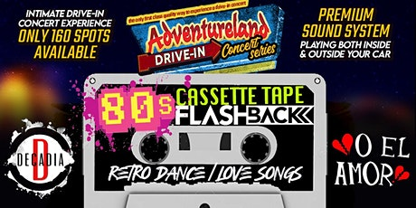 Cassette Tape Flashback: Adventureland Drive-In Concert Series tickets