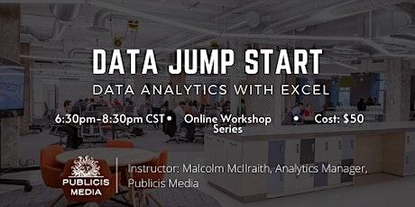 Data Jump Start - Data Analytics with Excel tickets