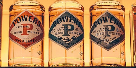 Powers Irish Whiskey tasting with Waterford Whiskey Society tickets