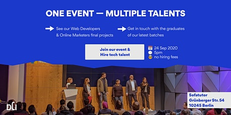 DCI Final Event (Web Development & Online Marketing) tickets